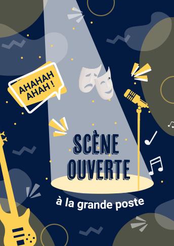 Scène ouverte La Grande Poste Bordeaux événement