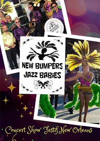 New Bumpers Jazz Babies spectacles cabaret burlesque concert